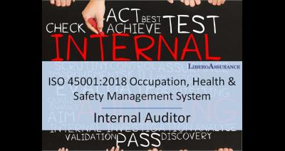 Internal Auditor ISO 45001:2018