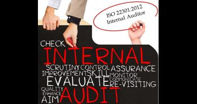 ISO 22301:2012 BCMS Internal Auditor