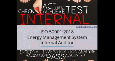 ISO 50001:2018 Internal Auditor